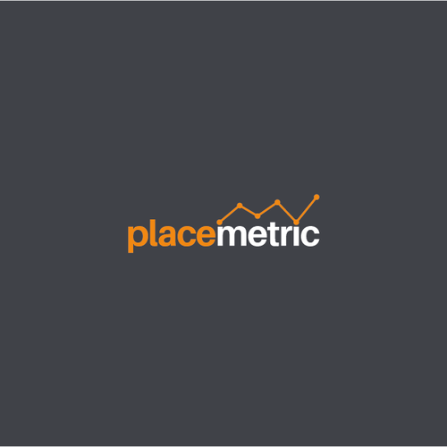 Internet logo with the title 'Placemetric'