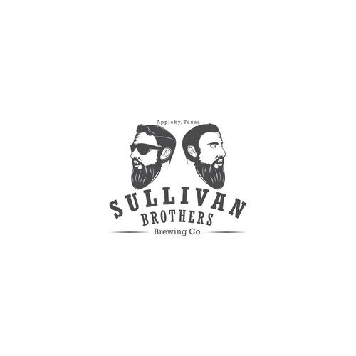 Brother design with the title 'Sullivan Brothers Brewing Co.'