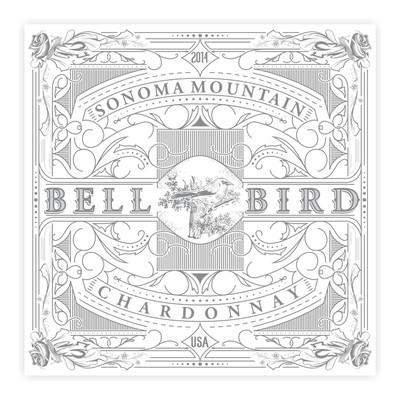 Bell Bird wine label