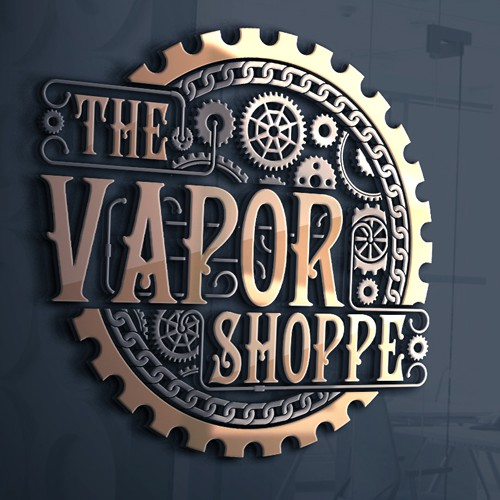Vapor logo with the title 'The Vapor Shoppe logo'
