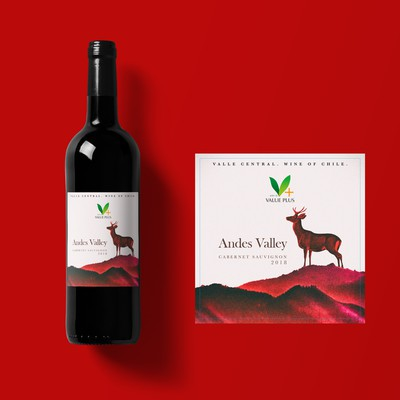 Andes Valley label design