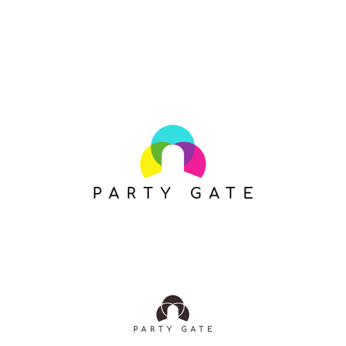 Gate logo with the title 'Party Gate'