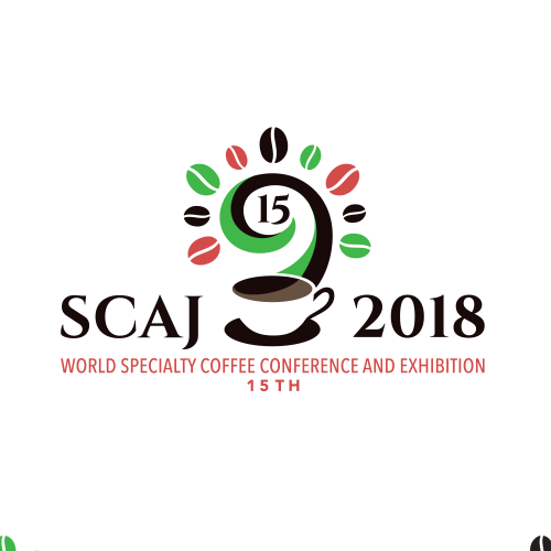 Exhibition logo with the title 'SCAJ 2018'