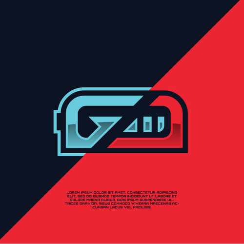 Esport brand with the title 'Gaming Energy Drink Logo Design'