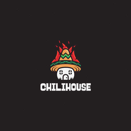 Flaming logo with the title 'ChiliHouse'