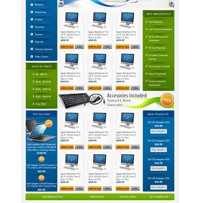 innovatepc.com needs a new website design