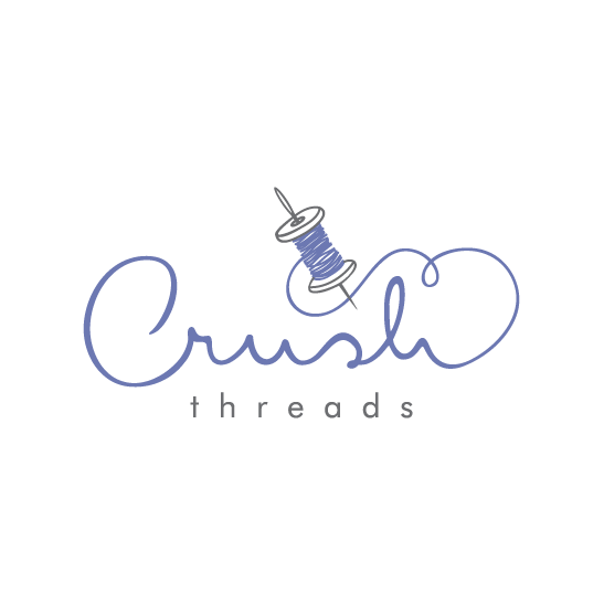Thread design with the title 'Crush'