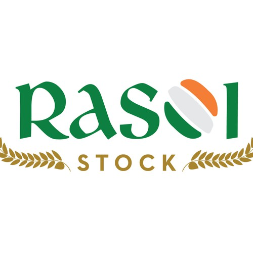 Wholesale logo with the title 'Economical modern logo for Indian food store'