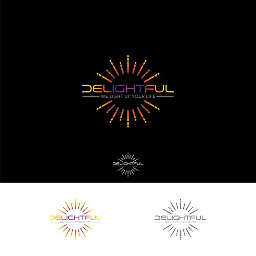 Light logo with the title 'Delightfull'