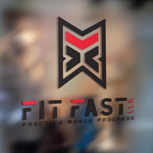 Personal trainer design with the title 'Fit Fast - Movement is Medicine'