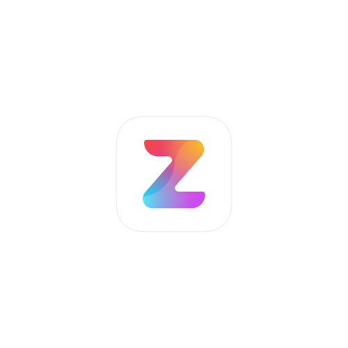 Z design with the title 'Zuper - App icon'