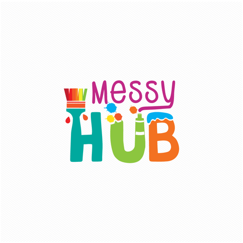 Painter logo with the title 'Messy Hub'