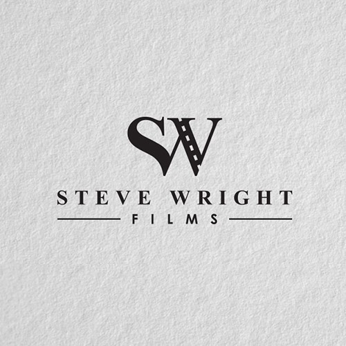 Film production logo with the title 'Filmmaker logo design.'