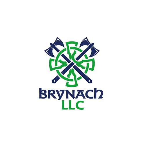 Barbarian logo with the title 'Brynach LLC'
