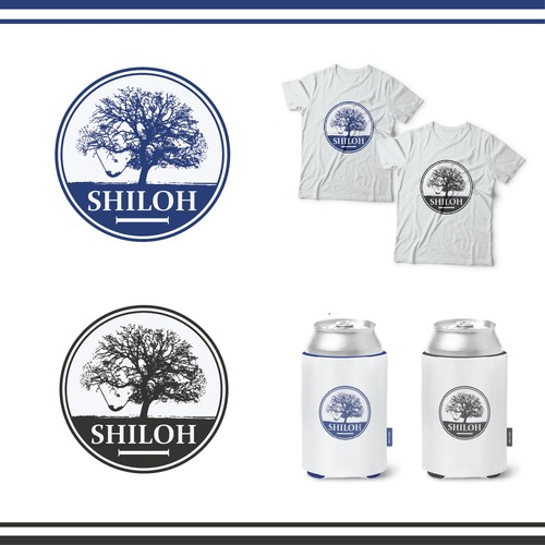 Small design with the title 'Shiloh'