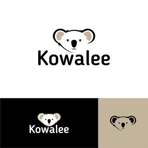 Koala design with the title 'Logo design for Kowalee'