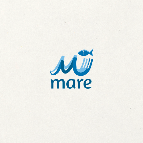 Culinary logo with the title 'Mare'