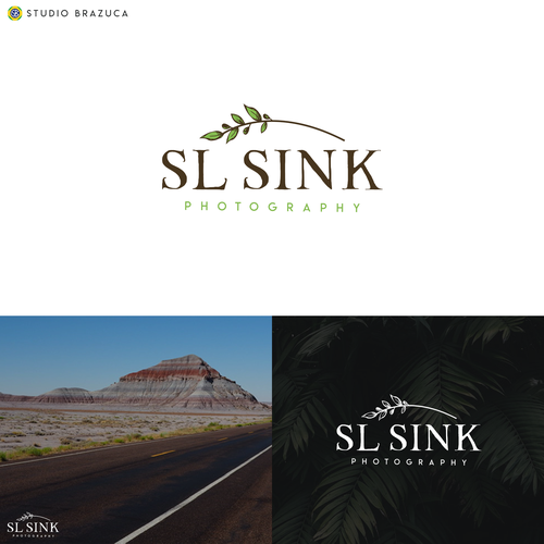 """Esthetician logo with the title 'Winner of """"SL Sink"""" Contest'"""