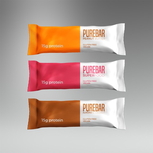Whey packaging with the title 'Packaging for chocolate bars'