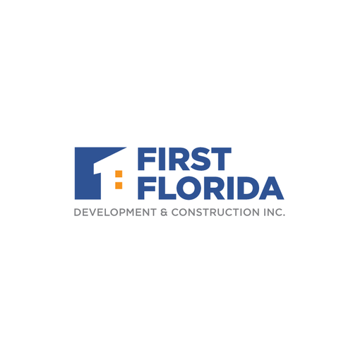 One design with the title 'Simple and Bold Logo Design for First Florida'