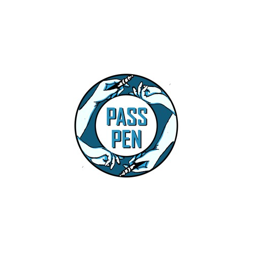 Old brand with the title 'pass pen'