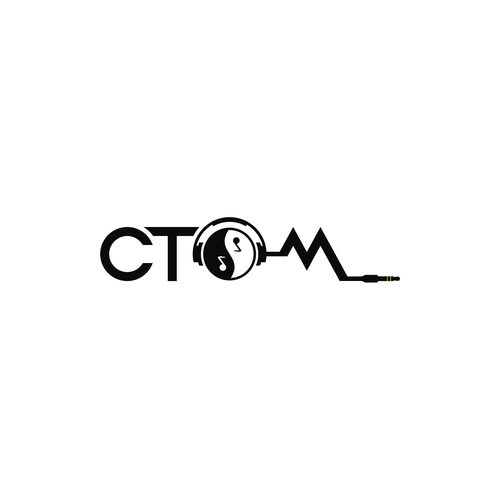 Yin-yang logo with the title 'CTOM'