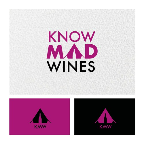 Explorer logo with the title 'KnowMad Wines'