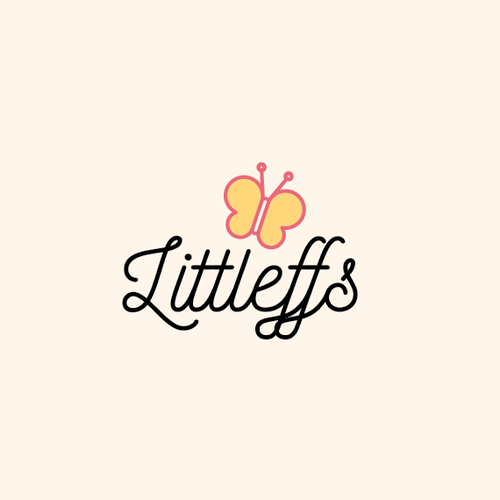 Little logo with the title 'Create an edgy, tough, streetwear logo for kids clothing brand'
