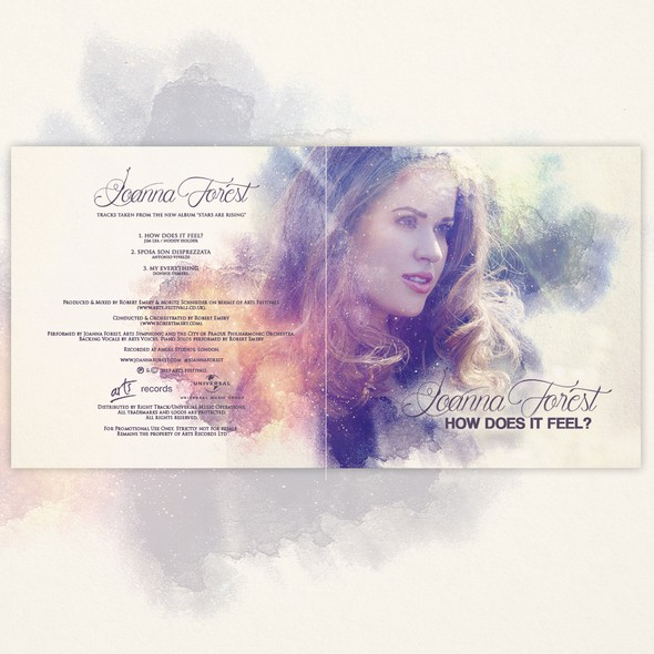 CD artwork with the title 'Cover Artwork for Classic Soprano Promo CD'