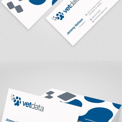 Business Card Design for Tech Brand
