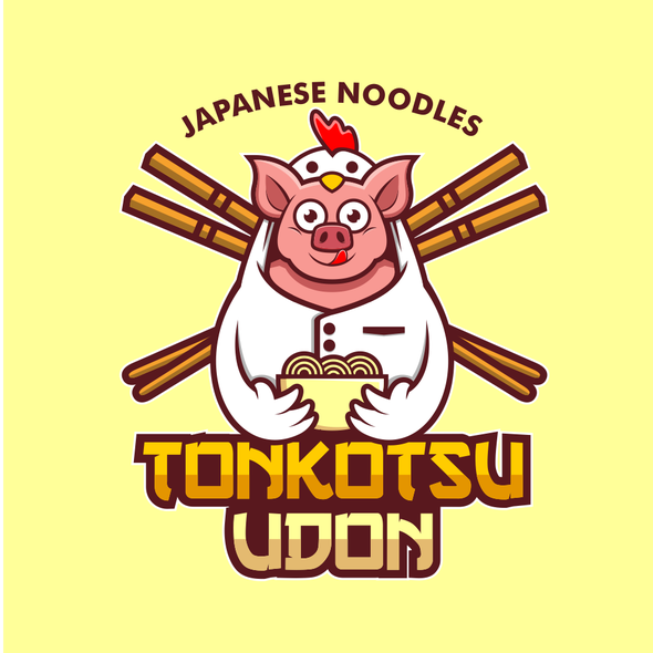 Cosplay logo with the title 'Pig Wear Chicken Cosplay'