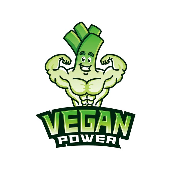 Health t-shirt with the title 'Design for Vegan Nutrition & Strength Training '