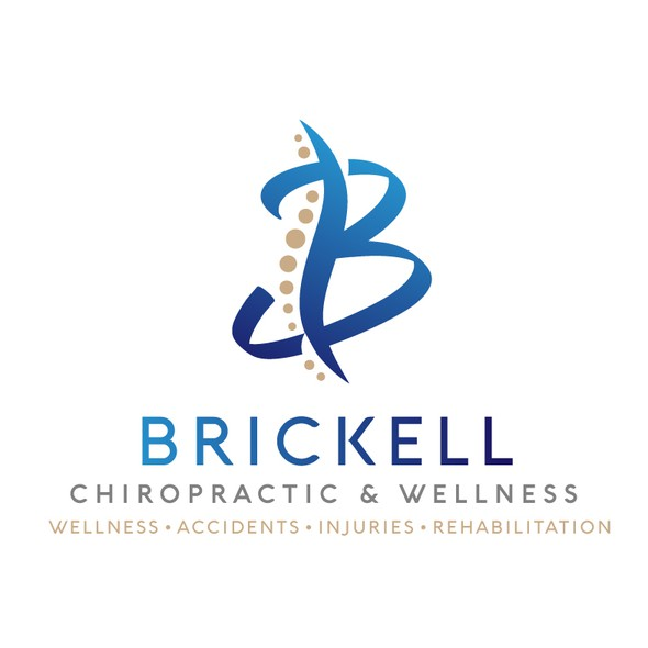 Chiropractic logo with the title 'Sleek and Modern Logo for a Chiropractic Clinic'