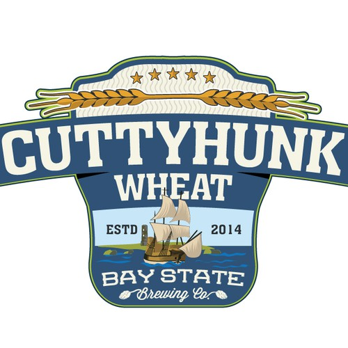 Wheat logo with the title 'Create a new logo for our next Beer!'