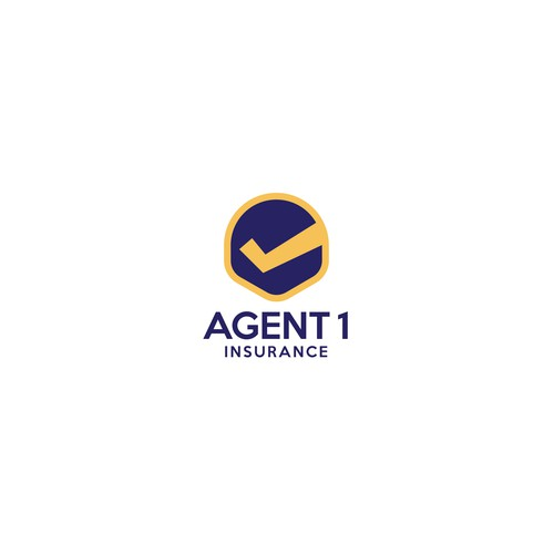 Insurance brand with the title 'AGENT 1 INSURANCE'