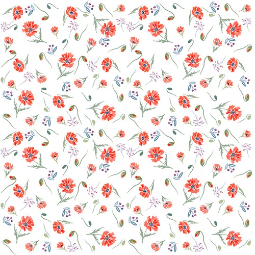 Fabric illustration with the title 'Fabric pattern'