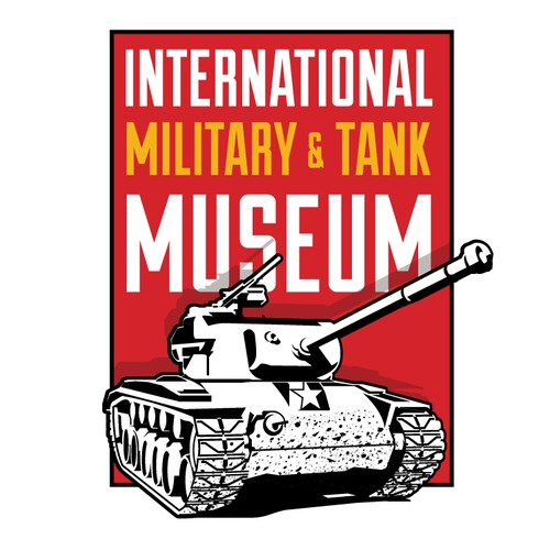 Army logo with the title 'International Military & Tank Museum'