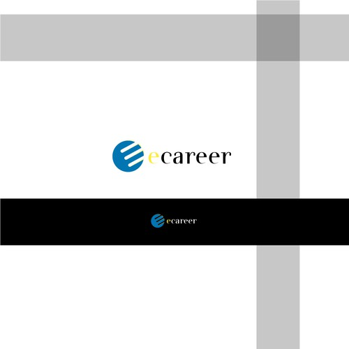 Nice brand with the title 'ecareer'