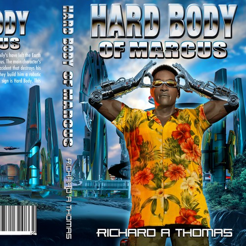 Black book cover with the title 'Hard Body of Marcus'
