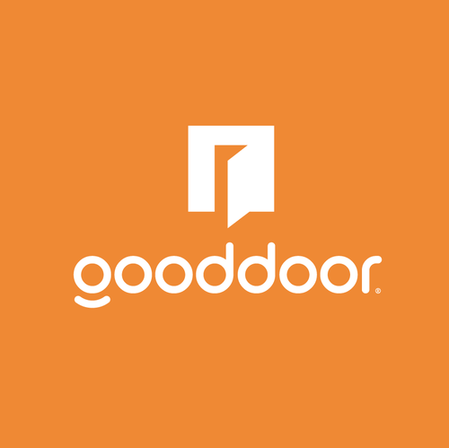 Delivery design with the title 'gooddoor'