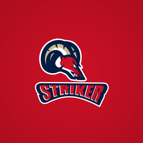 Aggressive logo with the title 'Striker'