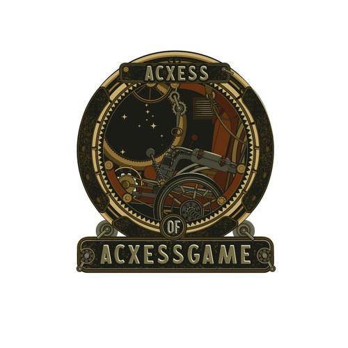 Gear design with the title 'Acxess'