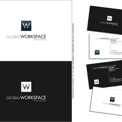 Slick logo with the title 'New logo wanted for Global Workspace Association'