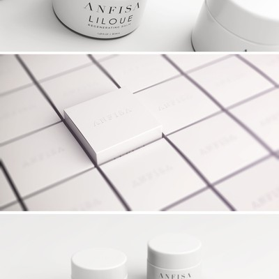 Luxury skin care packaging