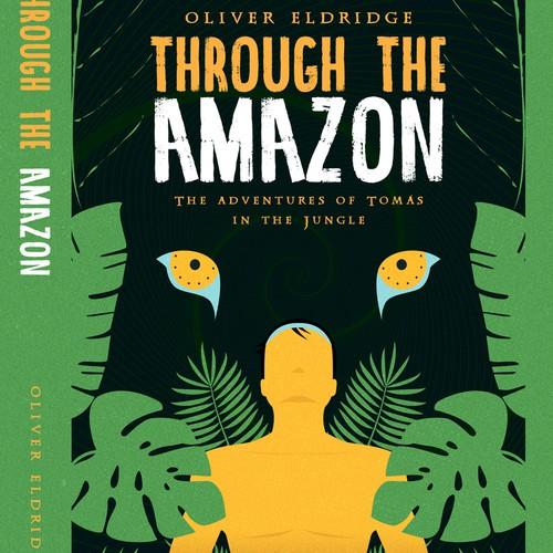 Jungle design with the title 'Amazon Adventure'