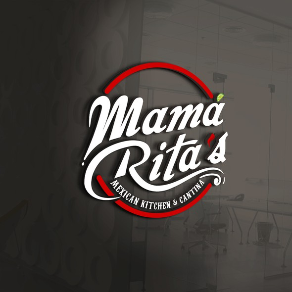Cantina logo with the title 'Clean and Bold logo for Mexican kitchen  '