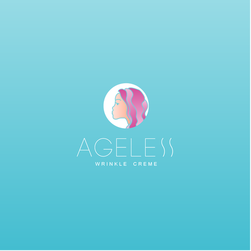 Slim logo with the title 'Ageless Wrinkle Creme '