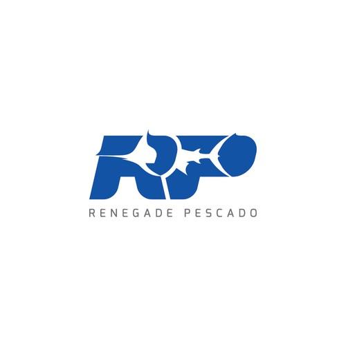 Fishing design with the title 'Renegad Pescado Logo'