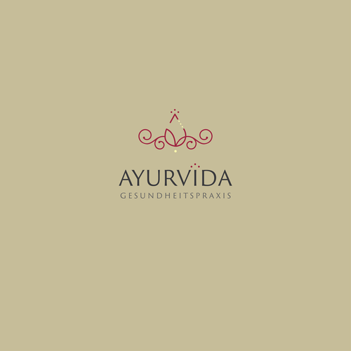 Reiki logo with the title 'Logo for Ayurveda activity'