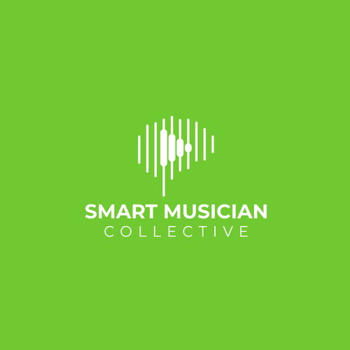 Music logo with the title 'Smart musician'
